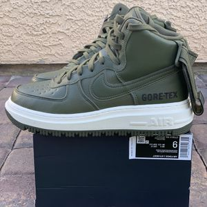Nike Air Force 1 High GTX Gore-Tex Boot Olive Green Men's 9 for Sale in Las Vegas, NV