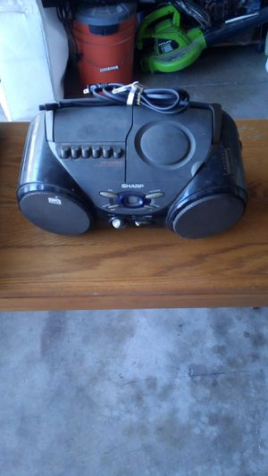 Sharp CD Player Radio for Sale in Ontario, CA