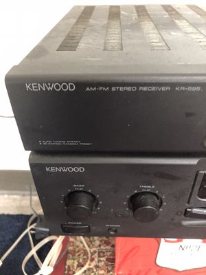 Kenwood receiver model KR-595 for Sale in Clearwater, FL
