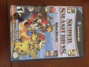 CASE ONLY NO GAME Super smash bros melee Nintendo GameCube for Sale in San Ramon, CA