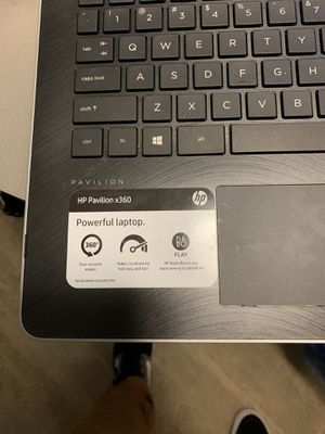 HP TOUCHSCREEN LAPTOP for Sale in Houston, TX