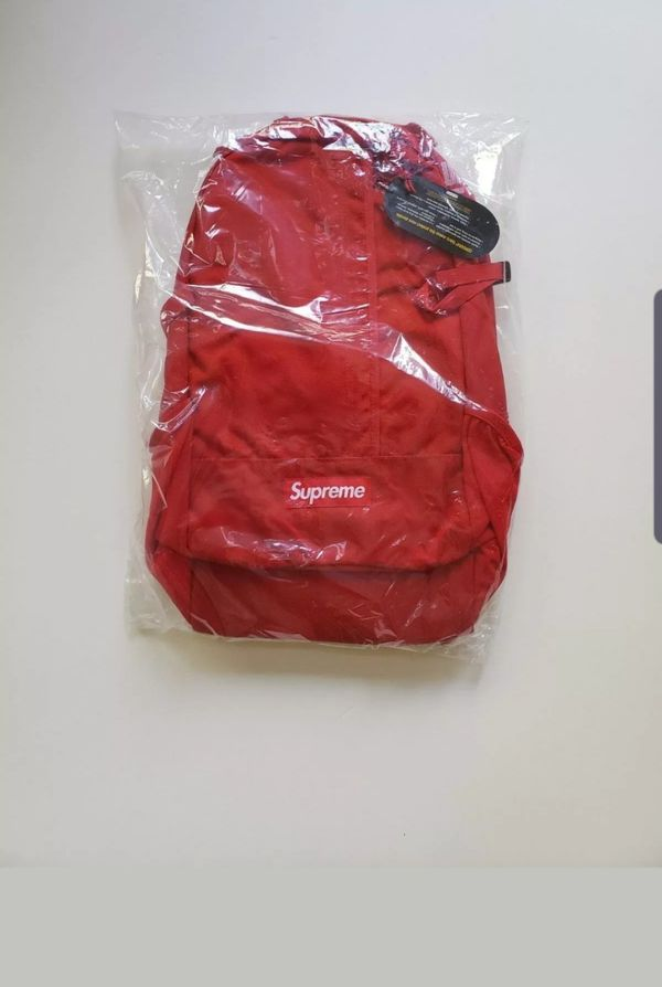 SUPREME SS18 AUTHENTIC BACKPACK