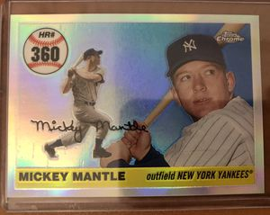 Mickey Mantle Baseball Card for Sale in Westlake, OH