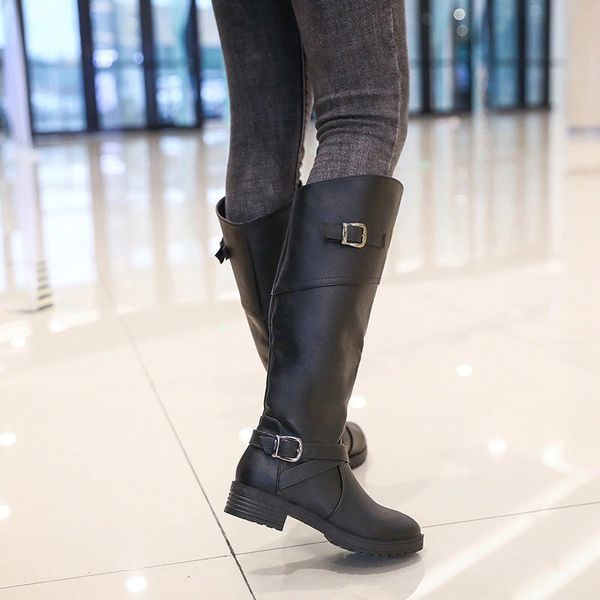 Fall/snow knee high boots for women