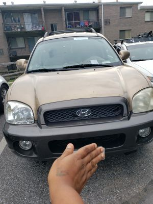 2004 Used Hyundai Santa Fe for Sale in MD, US