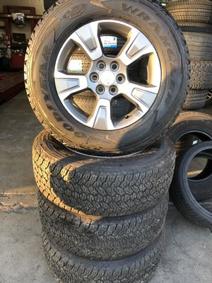 """17"""" rims and tires Colorado for Sale in Chino, CA"""
