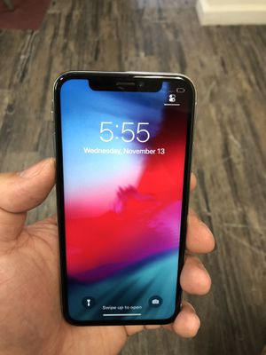 Unlocked Apple iPhone X 64GB White for Sale in Cherry Hill, NJ