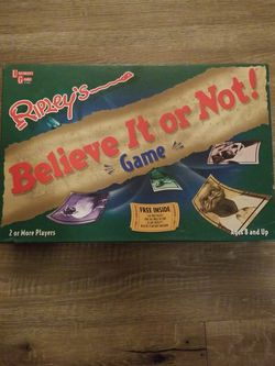 Ripley's Believe It or Not! Board Game for Sale in Rockville,  MD