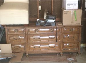 Sturdy wood dresser for Sale in Westerville, OH