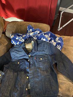 Levi's Blue Denim Jacket 2xl for Sale in Las Vegas,  NV
