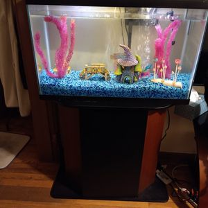 29gal Fish Tank And Stand for Sale in Nampa, ID