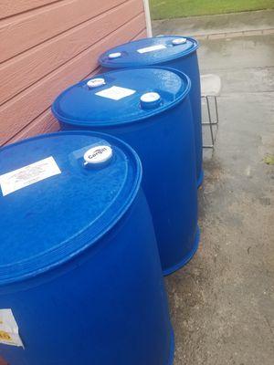 Vendo estos tambor 55 galones buenas condiciones limpios for Sale in Carson, CA