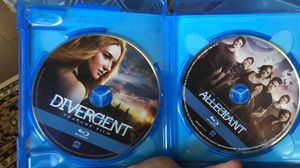 Divergent blue ray 1 and 3 for Sale in Moseley, VA