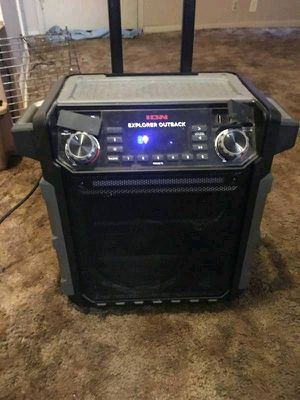 Waterproof Explorer outback bluetooth karaoke speaker for Sale in Wichita, KS