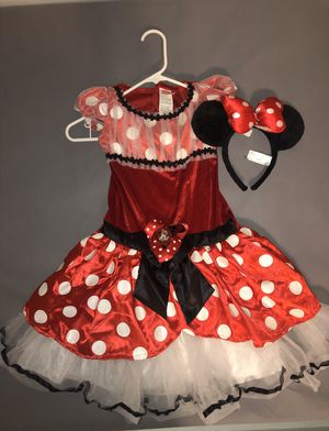 Deluxe Minnie Mouse Kids Halloween Costume Size 7-8 ( Check Out My Other Halloween Costumes!) for Sale in Carrollton, TX