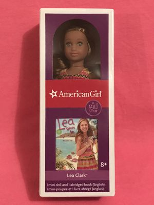 """New! American Girl Mini Doll """"Lea"""" for Sale in West Chicago, IL"""