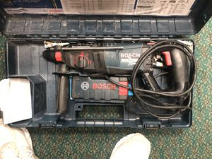 Hammer Drill, Tools-Power Bosch Bulldog Xtreme In Case With Extra Bits for Sale in Baltimore, MD