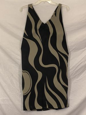 Black and gold tiger stripe dress for Sale in San Leandro, CA