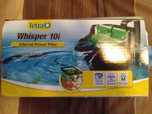 Tetra Whisper In-Tank Filter with BioScrubber for aquariums for Sale in Casselberry, FL