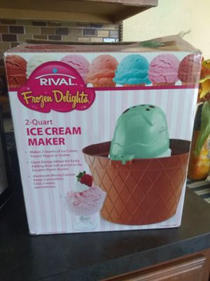 Brand new rival ice cream maker for Sale in Apopka, FL