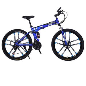 Folding/Full Suspension 26in Mountain Bike Shimano 21 Speed Bikes MTB Bicycle for Sale in Flower Mound, TX