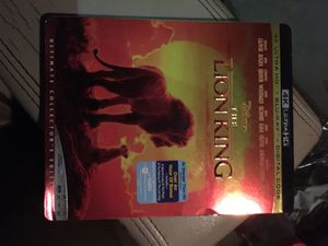 Th Lion King 4K the new one for Sale in Houston, TX