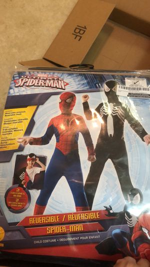Reversible Spider-Man costume for Sale in Gulf Breeze, FL