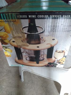Wine cooler serving rack open box never used for Sale in Alexandria, VA