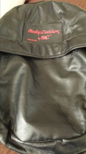 Harley-Davidson leather trunk bag for Sale in Brooklyn, OH