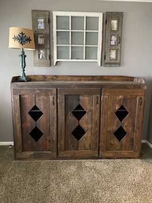Wood cabinet for Sale in San Diego, CA