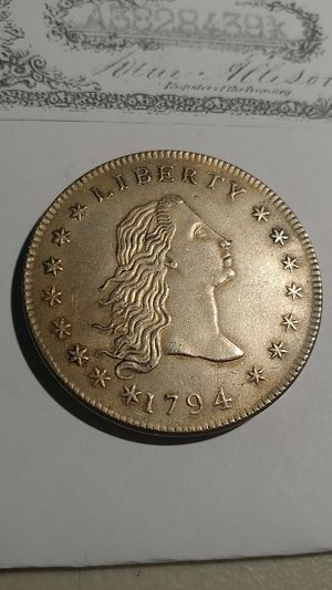** RARE LIBERTY NOVELTY SILVER COIN* 1794* D: 40MM-W: 26.3 GRAMS* for Sale in Brooklyn, NY