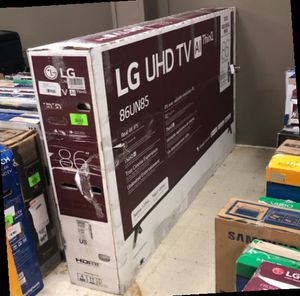 Lg 86 Inch Tv O8 for Sale in Houston, TX
