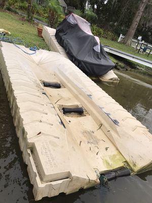 Jet ski floating dock (2) for sale. Shore master for Sale in Orlando, FL
