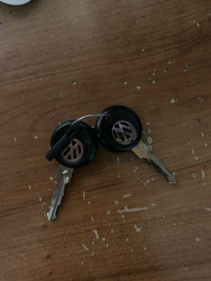 Vintage VW car keys for Sale in Keedysville, MD