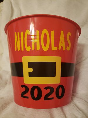 Personalized Christmas Eve buckets for Sale in Baltimore, MD