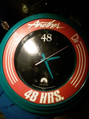 Another 48 Hours Promo Wall Clock!! for Sale in Kent, WA