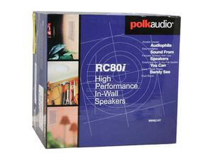 Polk Audio RC80i high quality ceiling speakers. for Sale in Orlando, FL