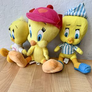 Vintage Tweety Bird Plush Toy Lot for Sale in Elizabethtown, PA