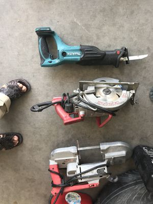 Power tools top to bottom listed for Sale in Goodyear, AZ