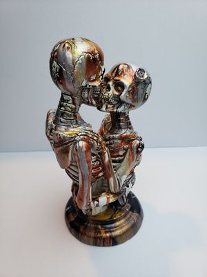 7.5in ceramic skeleton for Sale in Surprise, AZ
