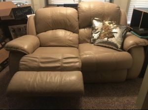 Brown leather recliner chair for Sale in Atlanta, GA