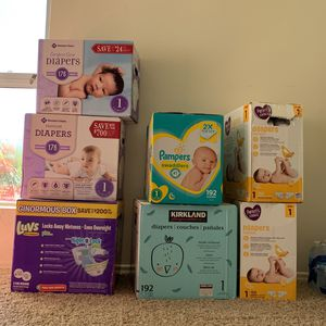 Diapers Size 1 for Sale in San Diego, CA