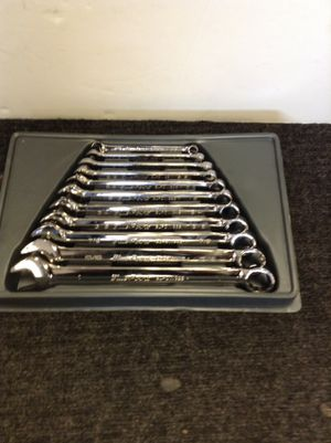 Blue point standard 11 piece wrench set 1- 3/8 for Sale in Denver, CO