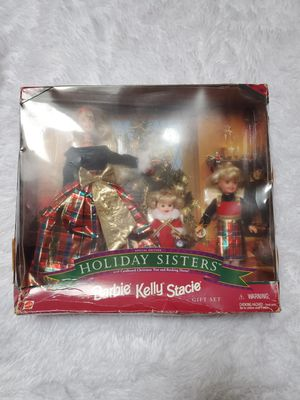 1998 BARBIE HOLIDAY SISTERS SPECIAL EDITION for Sale in Taunton, MA