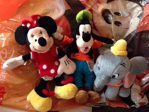Disney Mini Plush Dolls. Only Goofy left! for Sale in Rockville, MD