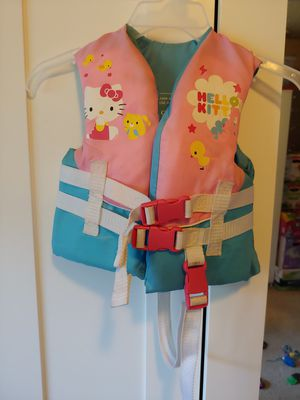 Kids hello kitty life vest for Sale in Milwaukie, OR