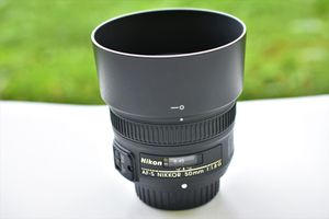 Nikon AF-S Nikkor 50mm 1:1.8G Prime Lens for Sale in Ellicott City, MD