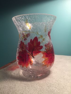 Vase/ big votive for candle or flowers for Sale in Bellefonte, PA