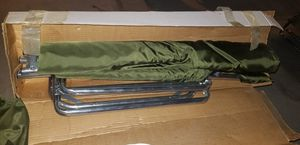 Camping cot (2) x 50 new for Sale in Las Vegas, NV