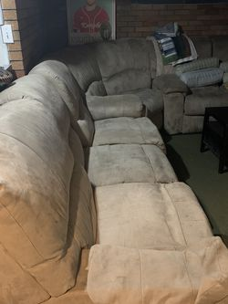 Large Reclining Couch for Sale in Waltham,  MA